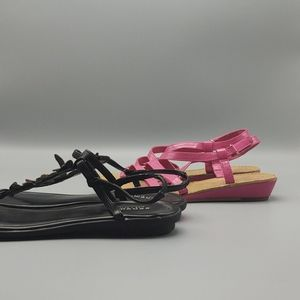 2 pr. Girl's summer sandals sz. 3